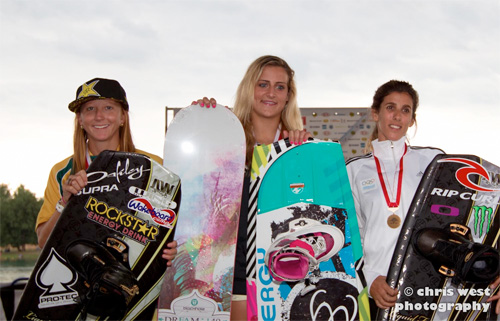 Raimi Merritt Wins Wakeboard World Championships in Italy